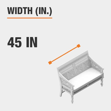 Width 45 inches