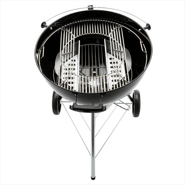 Black charcoal grill from Weber