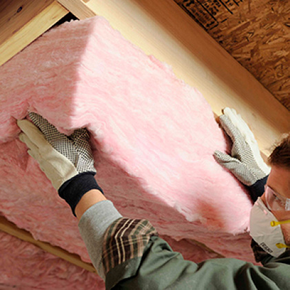 Owens Corning R 30 Ecotouch Pink Kraft Faced Fiberglass Insulation Batt 16 In X 48 In 8 Bags Bf70 The Home Depot