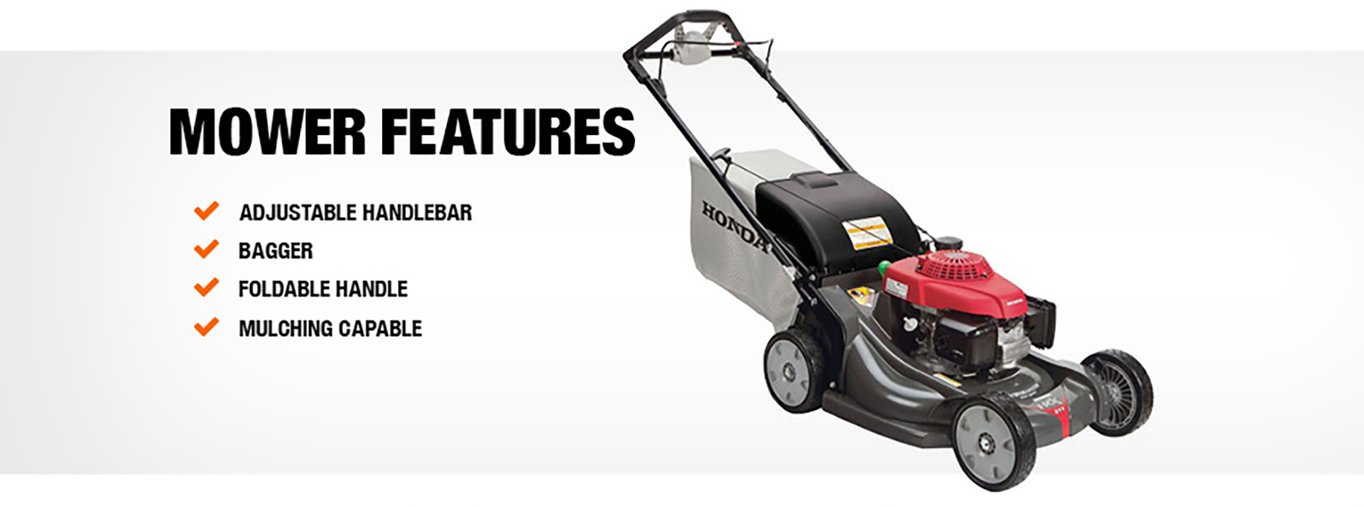 Product Overview. Mower Features