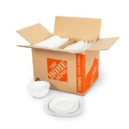 Pratt Retail Specialties Dish Packing Kit