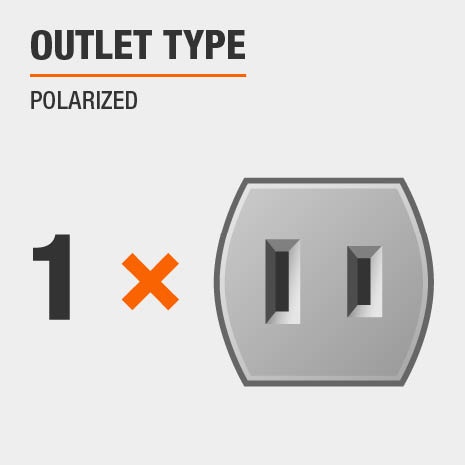 Outlet Type Polarized