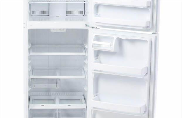 Excellent Ge 17 5 Cu Ft Top Freezer Refrigerator In White Interior Design Ideas Gentotryabchikinfo