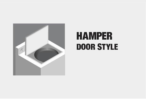 H&er Door Style & Whirlpool 4.3 cu. ft. High-Efficiency White Top Load Washing Machine ...