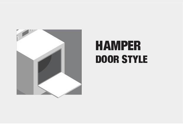 Hamper Door Style