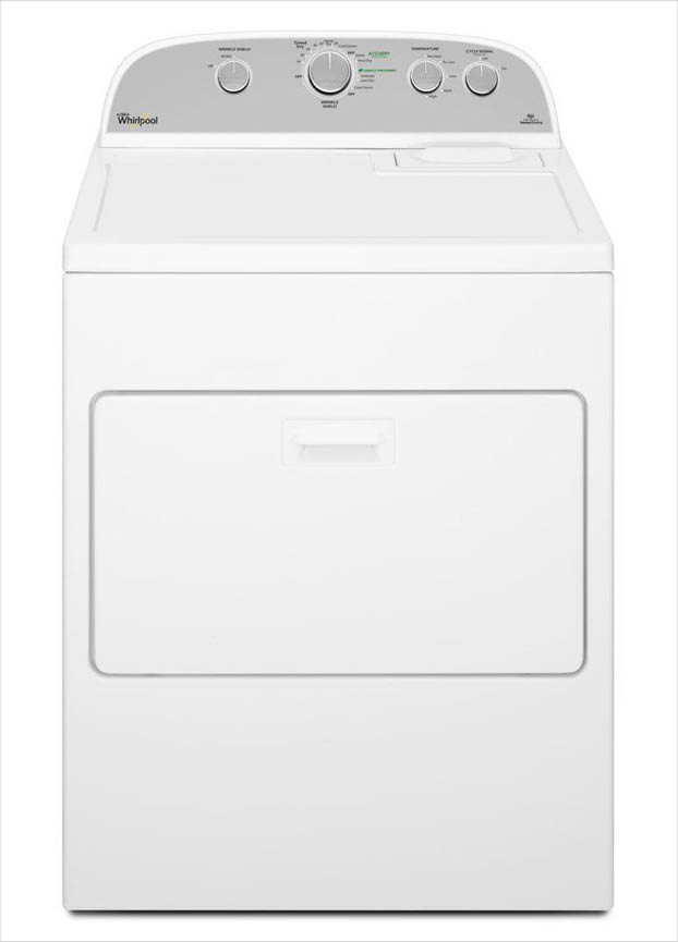 Whirlpool 7 0 Cu Ft 240 Volt White Electric Vented Dryer