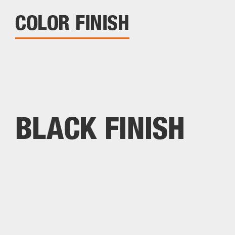 This bathroom vanity mirror color finish is Black Finish