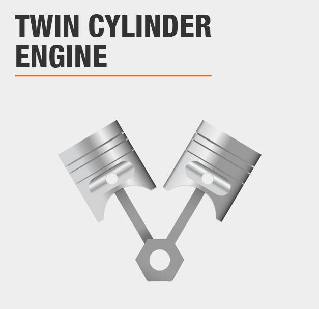 Cub Cadet XT1 Enduro 46 in  22 HP V-Twin Kohler Gas Hydrostatic  Front-Engine Lawn Tractor