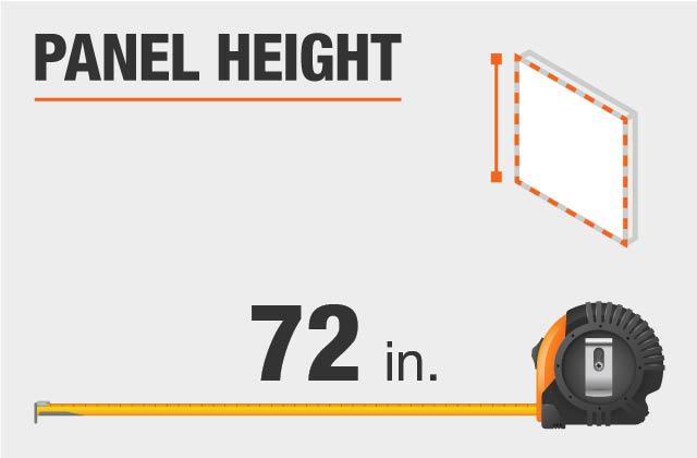 Panel Height