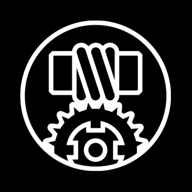 Worm drive icon.