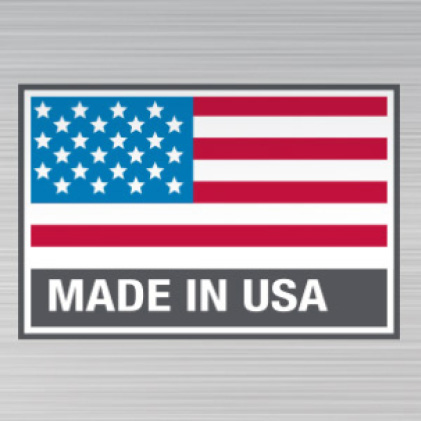Proudly made in Mukwonago, WI USA