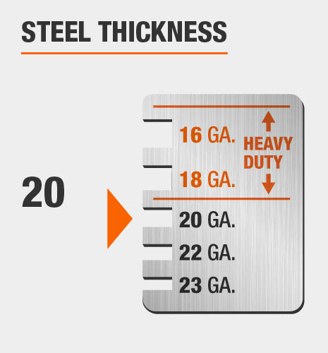 20-Gauge Steel Thickness