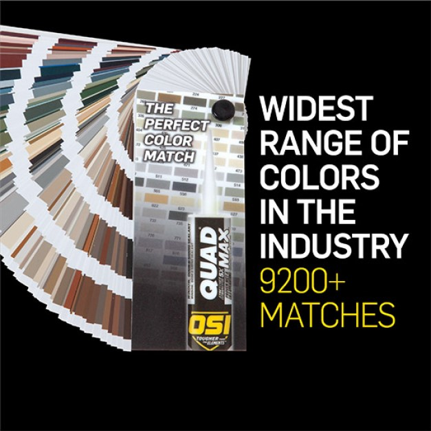 OSI has over 9200 color matches