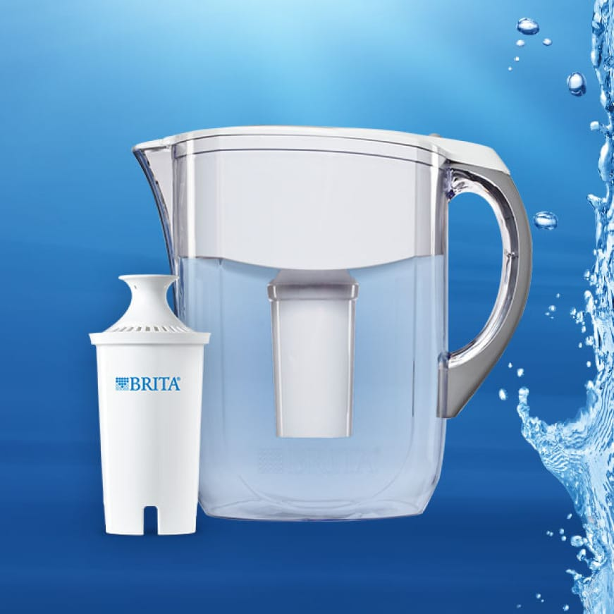 Brita Standard Pitcher and Replacement Filter.