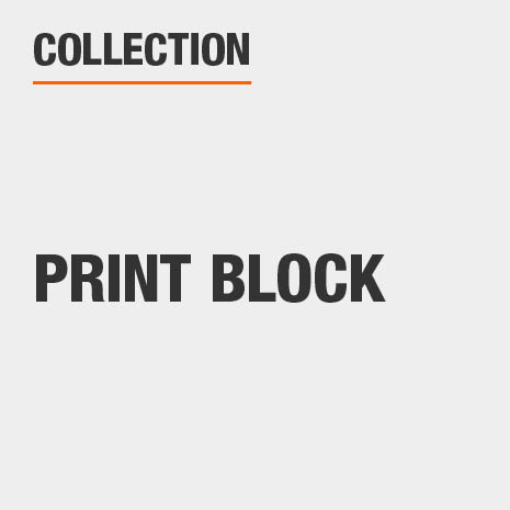 Print Block Collection