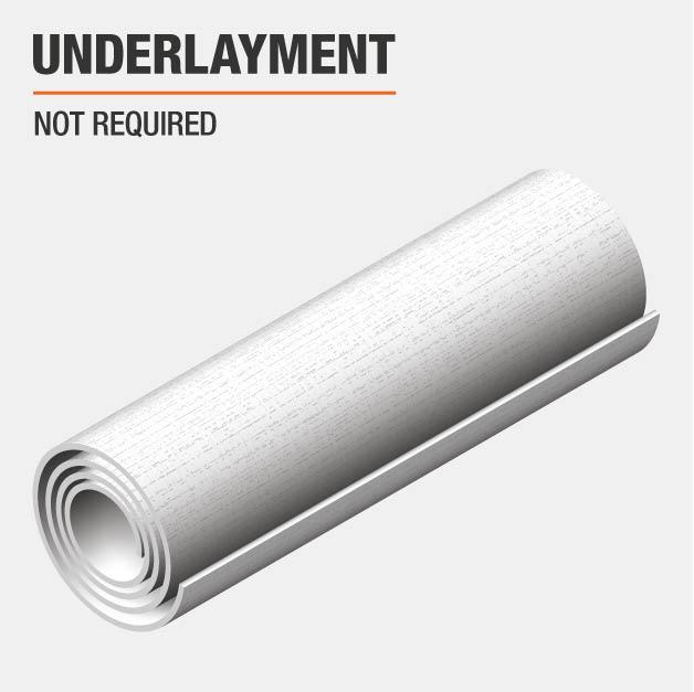 Underlayment Required