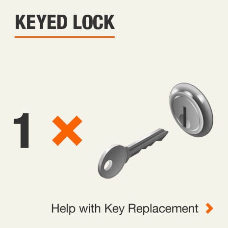 Keyed Lock 0 Key. Click for help with replacement