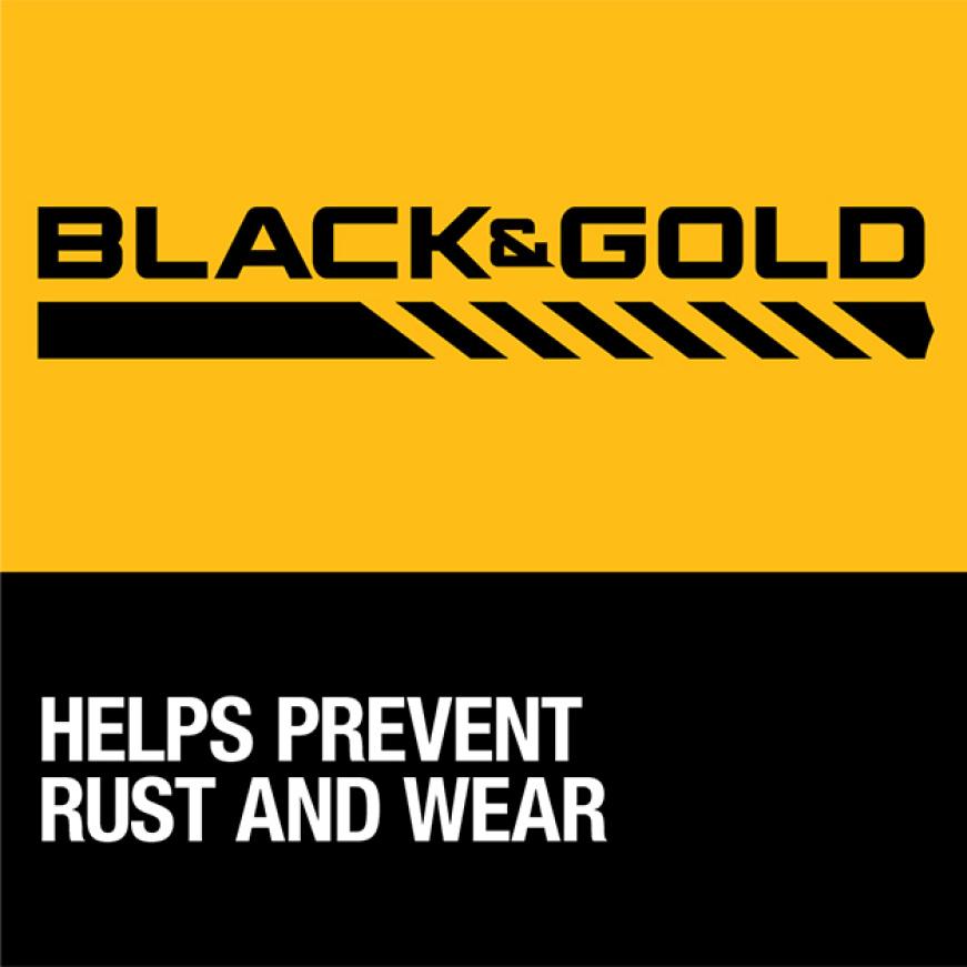 205952637 DWA1184 Black and Gold Drill Bit Set (14-Piece) Black & Gold Metal Drill Bits