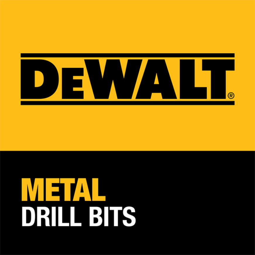 205952637 DWA1184 Black and Gold Drill Bit Set (14-Piece) DEWALT GUARANTEED TOUGH