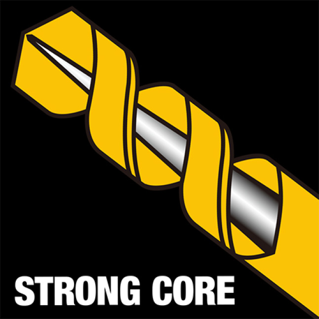 205952637 DWA1184 Black and Gold Drill Bit Set (14-Piece) Strong Core