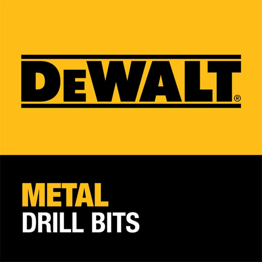 205952648 DWA1181 Black and Gold Drill Bit Set (21-Piece) DEWALT GUARANTEED TOUGH