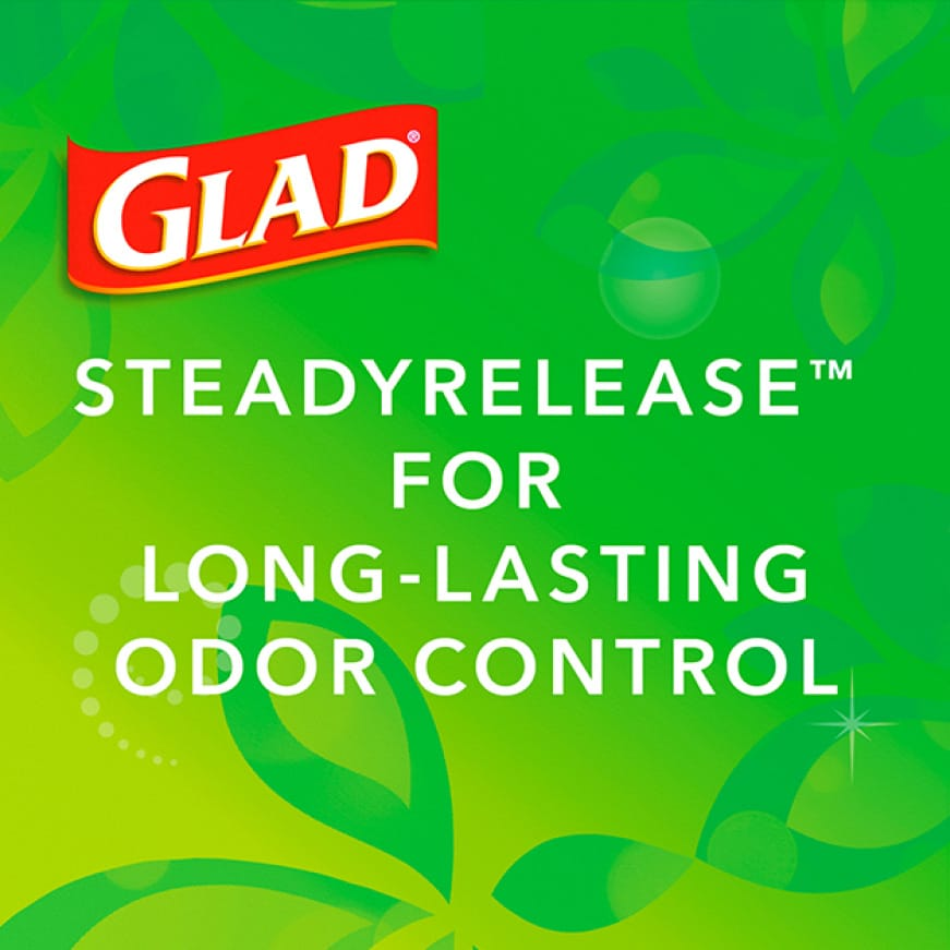 OdorShield technology to neutralize the strongest odors for up to 5 days.