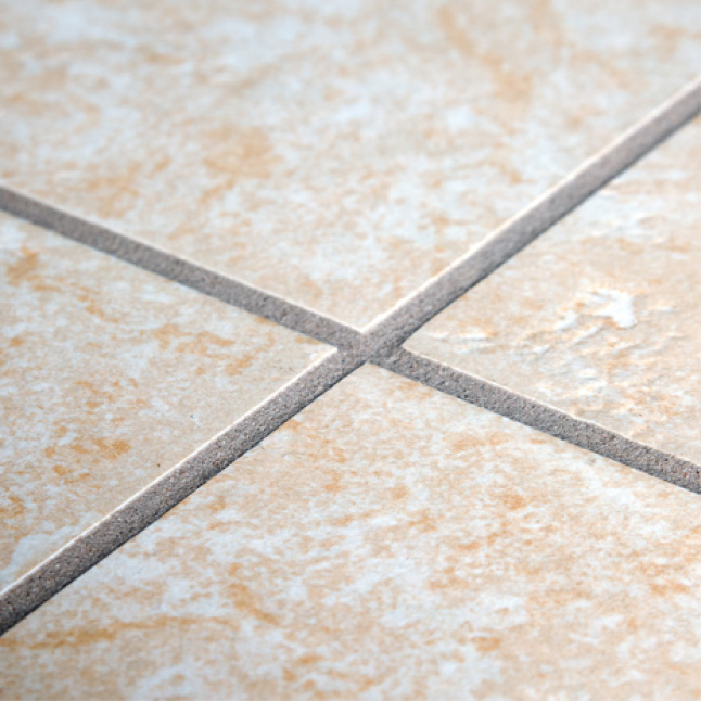 Grout lines with no efflorescence