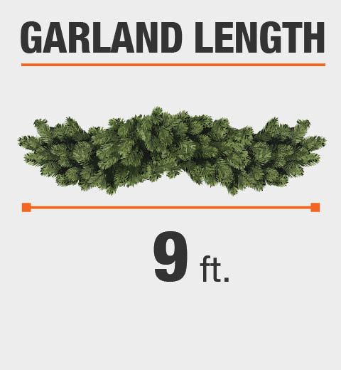 National Tree Company 9 Ft. Norwood Fir Artificial Garland