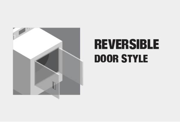 Reversible Door Style
