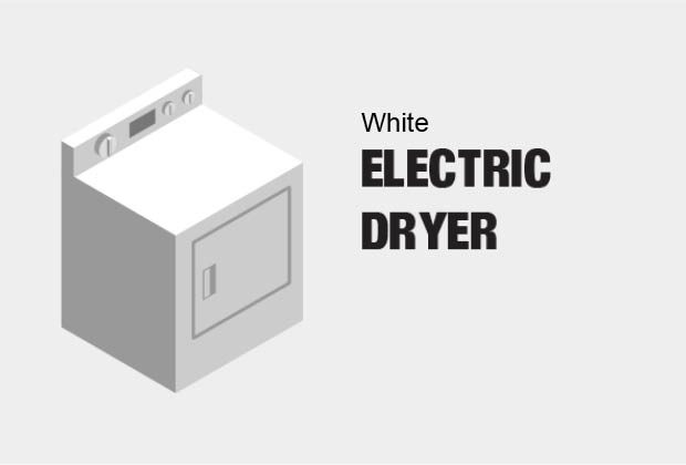 206029544 11r amana 6 5 cu ft 240 volt white electric vented dryer with wrinkle