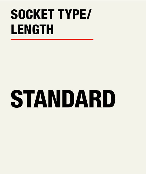 Husky Standard Socket Length