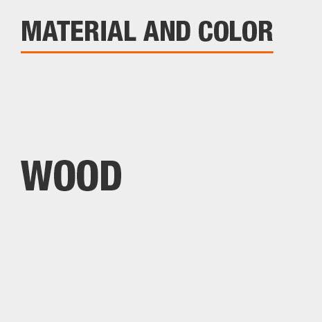 Natural Finish Wood Cabinet