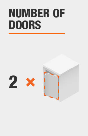 Cabinet with 2 Doors