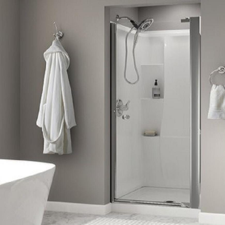 Frameless Pivot Shower