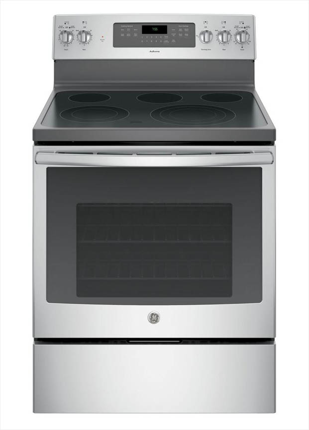 Ge Adora 5 3 Cu Ft Electric Range With Self Cleaning