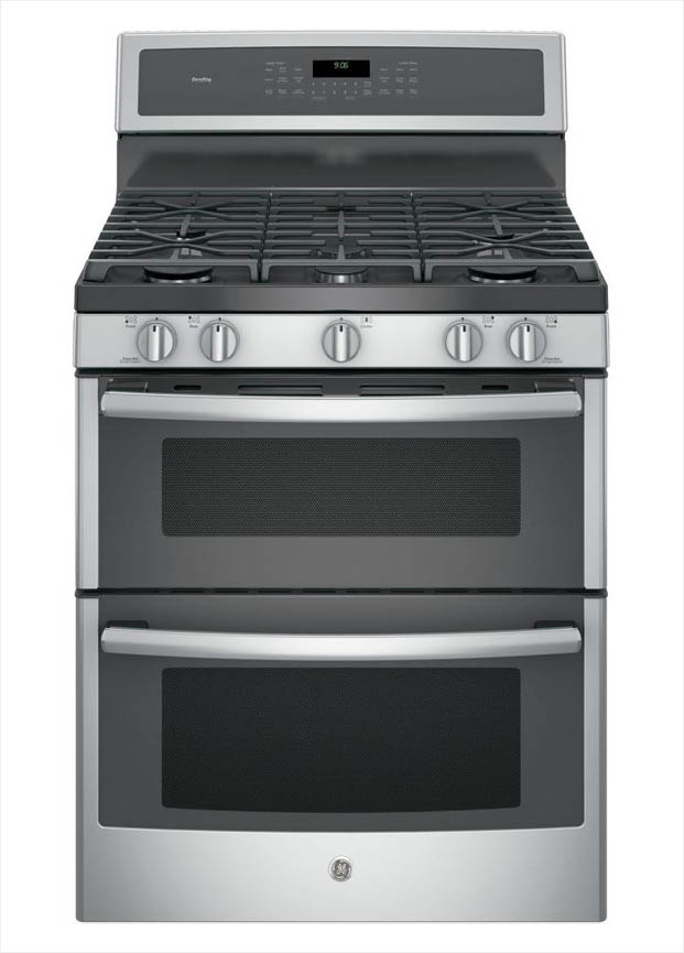 GE Profile 30 in. 6.8 cu. ft. Double Oven Gas Range with
