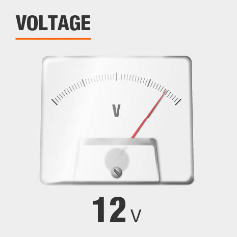 This light has a voltage of 12v.