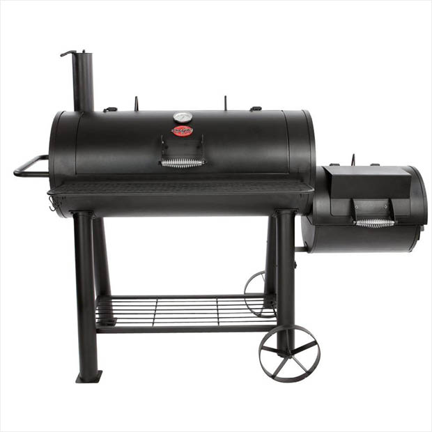 Char-Griller 1012 sq. in. Competition Pro Offset Charcoal or Wood ...