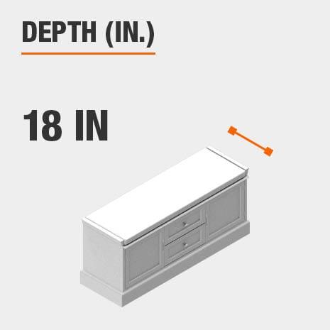 Depth 18 inches