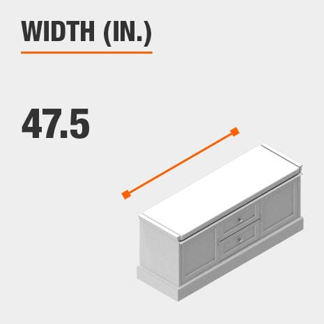 Width 47.5 inches