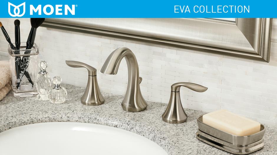 American Standard Chatfield 8 In Widespread 2 Handle: MOEN Eva 8 In. Widespread 2-Handle Bathroom Faucet Trim