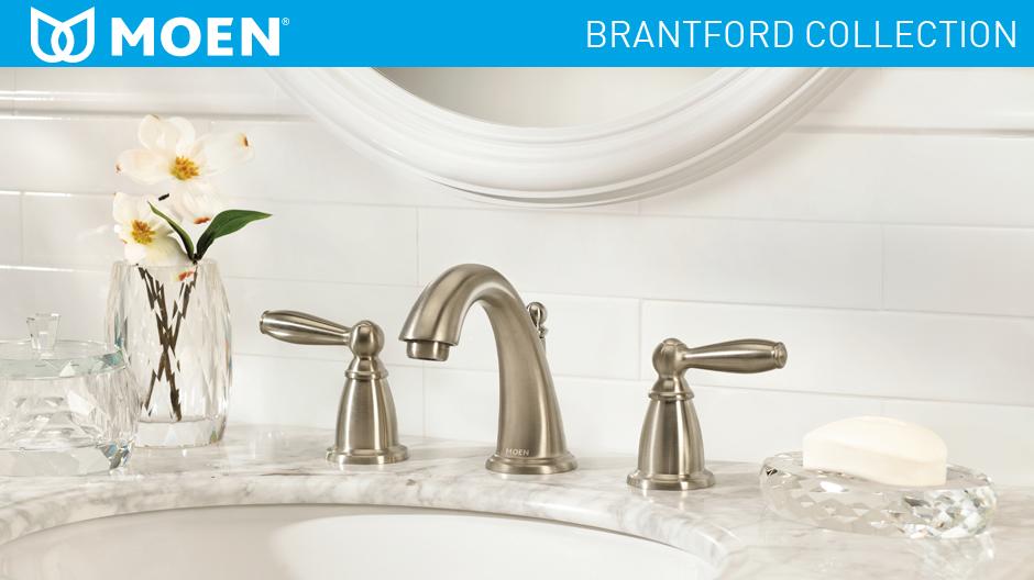 Moen Brantford 8 In Widespread 2 Handle High Arc Bathroom