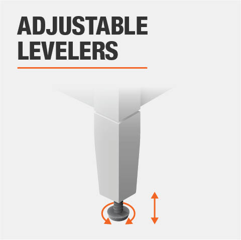 Product feature, Adjustable levelers