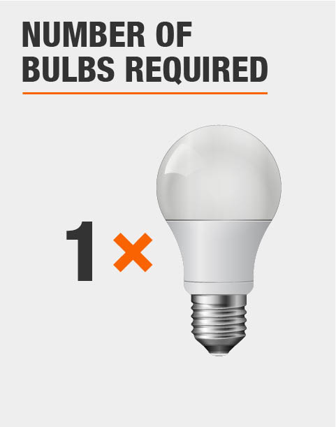 1 LIght Bulb Required