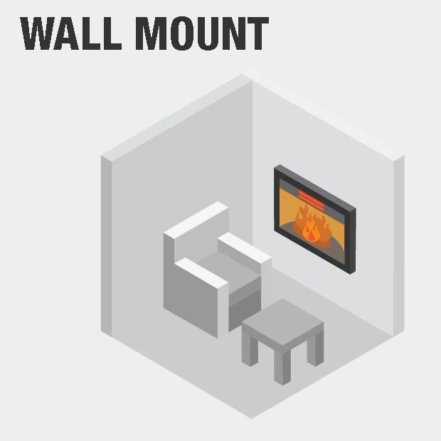 Groovy Northwest 50 In Electric Fireplace Color Changing Wall In White Download Free Architecture Designs Intelgarnamadebymaigaardcom