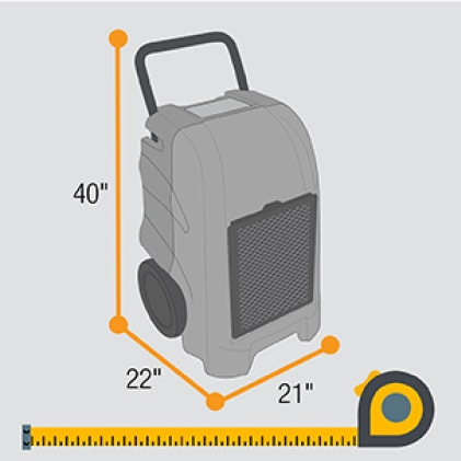 Function and innovative engineering define size and weight on all B-Air® equipment.