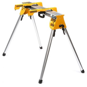 DWX725B Supports up to 1,000lbs. and weighs only 15.4 lbs. (Includes 2 Miter Saw Brackets)