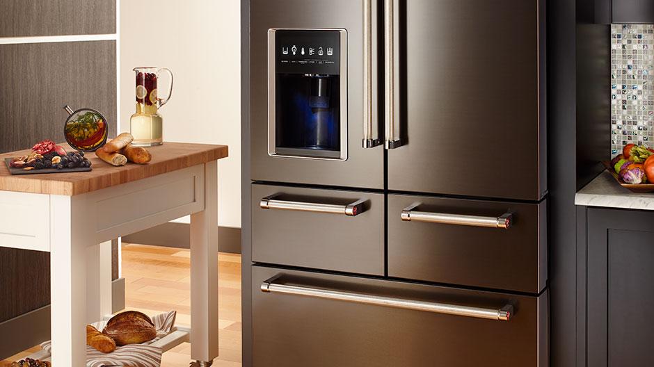Kitchenaid 25 8 Cu Ft French Door Refrigerator In