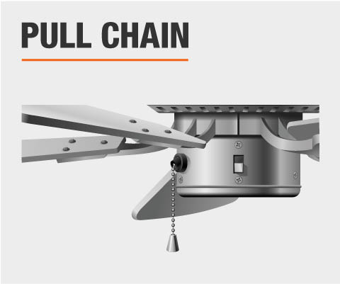 Ceiling fan control type pull chain
