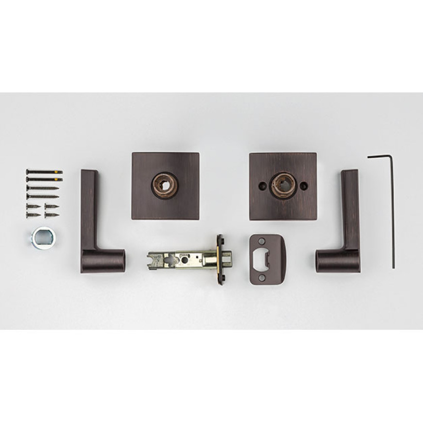Includes Two Sides and a Latch for Easy Install